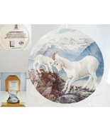 A Gentle Persuasion Mountain Goat Bradford Exchange Collector Plate - $12.19
