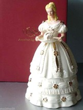Lenox Christmas Sweet Delight Figurine 2011 Ivory Hand Painted Limited $198 New - $65.90