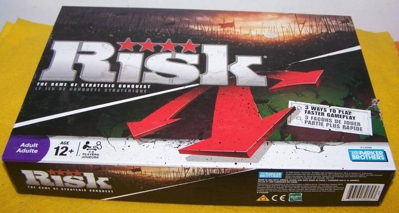 Risk Board Game Slightly Used  Vintage