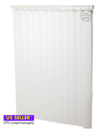 """47W x 72L White 3-1/2"""" Vertical Blind  FAST SHIPPING - $38.41"""