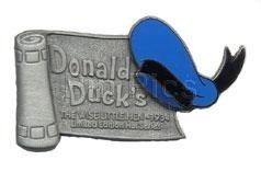 Disney Donald Duck WDW - Hat scroll LE 1500 Pin/Pins