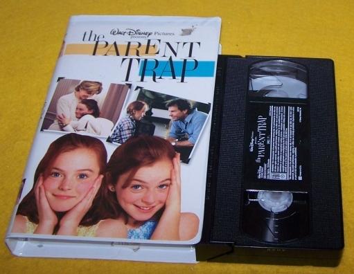 Vintage VHS Movie The Parent Trap 128 Min.