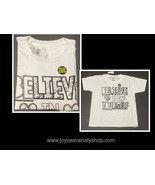 Kids BELIEVE IN YOURSELF Coloring T-Shirt Many Sizes Wear As Is Black & ... - $7.99