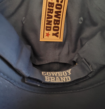 Cowboy Brand Cross Ball Cap Cotton Adult Black image 3
