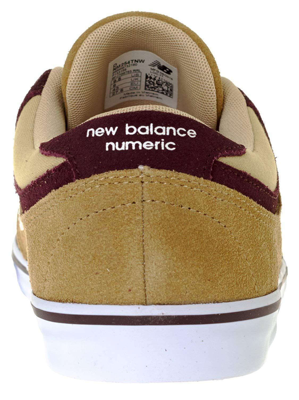 New Balance 254 Numeric NM254TNW Khaki Brown Men's Size 9 Skate