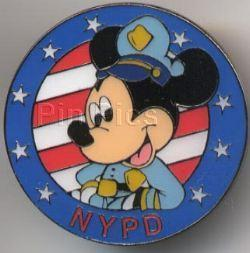 Primary image for Disney New York Mickey Mouse Police  Pin/Pins