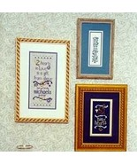Two Hearts Samplers OOP discontinued cross stitch chart Erica Michaels - $3.00