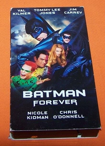 Vhs batmanforever