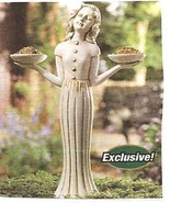 Garden Maiden Birdfeeder and Outdoor Candle Holder - $21.75