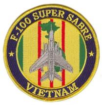 USAF F-100 Super Sabre Vietnam Patch - $10.88