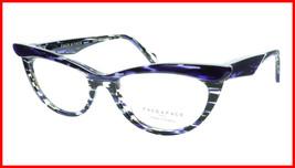 Face A Face Eyeglasses Frame Ebony 4 3027 Acetate Violet Cateye 50-16-135 31 - $275.48