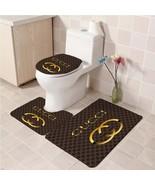 Hot Sale Gucci535 Toilet Set Anti Slip Good For Decoration Your Bathroom  - $20.09