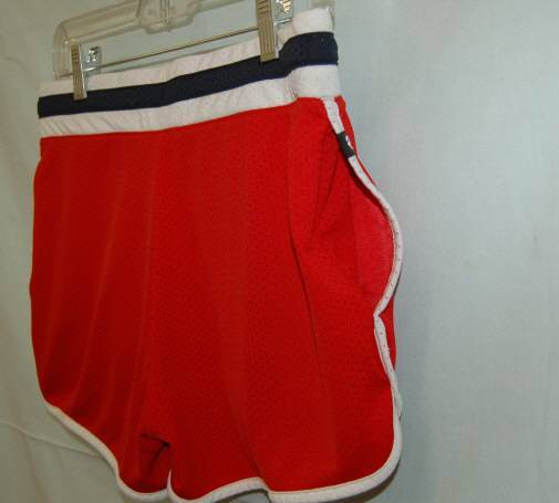 Nike Womens Active Slam Red Short The Athletic Dept Lg