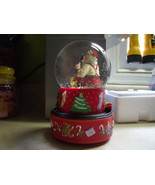 Hallmark Coca Cola Santa Musical Train Snow Globe - $60.00
