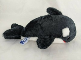 "Sea World Orca Killer Whale Plush 10"" 1989 Stuffed Animal Toy - $14.95"
