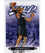 2003-04 Upper Deck MVP Dirk Nowitzki Dallas Mavericks - $2.00