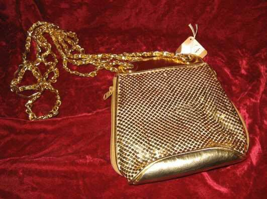 Vintage Moda Attiva Purse Handbag Evening Shoulder Bag