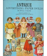 Antique Advertising Paper Dolls Costumes 33 Full Color Uncut Ephemera So... - $9.93