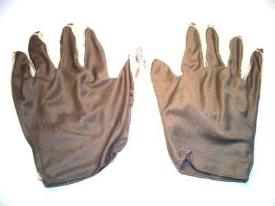 HALLOWEEN COSTUME CARNIVAL MARDI MASQUERADE CREEPY GHOUL VAMP ZOMBIE HANDS GLOVE