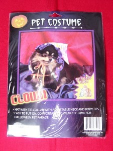 PET HALLOWEEN COSTUME LIL LITTLE CLOWN DOG CAT NEW