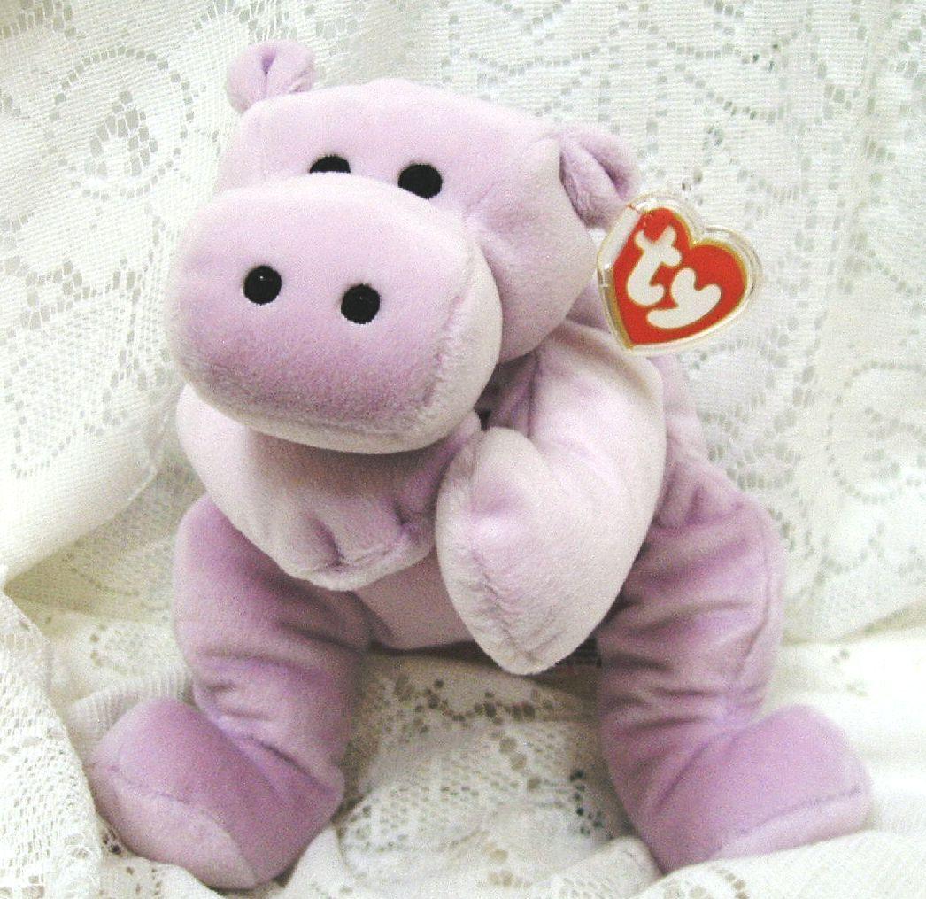 Pillow pals for bonanzle 002 tubby hippopotamus