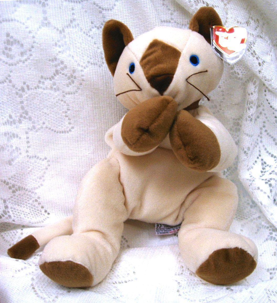 Pillow pals for bonanzle 004 meow siamese cat