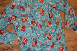 Disney Princess Shirt & Pants 2 Piece Pajamas Set ~ Little Mermaid Snowf... - $17.75