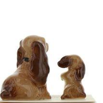 Hagen Renaker Miniature Dog Cocker Spaniel Mama and Pup Ceramic Figurine Set image 5