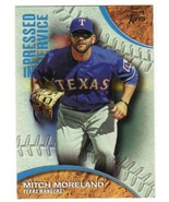 2016 Topps Pressed Into Service #PIS-1 Mitch Moreland  Texas Rangers - $0.99