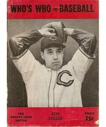 Whos Who in Baseball 1941 Bob Feller - $64.99