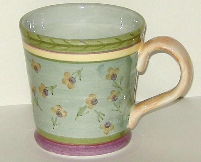 Culinary Arts Julie Ingleman Designs Ceramic Mug Green Mugs