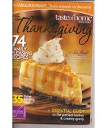 Taste of Home Holiday 74 Family Pleasing RecipeThanksgiving  - $4.50