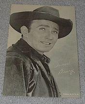 1960's Carnival Arcade Card Western TV Star James Drury The Virginian - $6.00