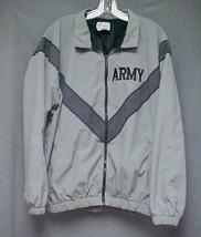 US Army Jacket Physical Fitness PFU Uniform Medium Long Skilcraft Nylon - $19.99