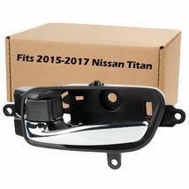 For 2015 2016 2017 Nissan Titan Interior Car Door Handle Front Rear - $9.75