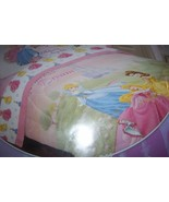 Disney Princess Dream Twin Comforter Cinderella Belle Sleeping Beauty NEW  - $40.00