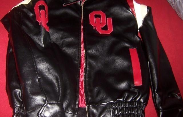 Oklahoma University Youth Jacket SZ L 16-18 NEW