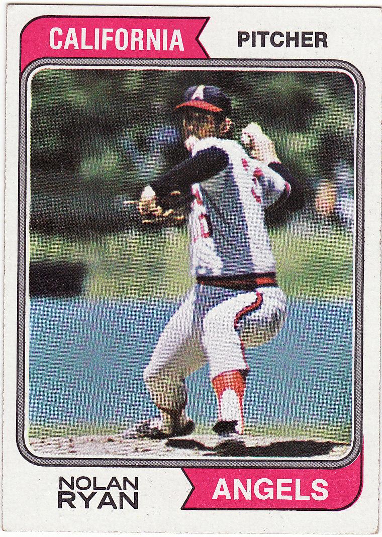Nolan ryan 1974 topps  20 ex