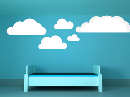 Clouds (Set of 8) - Vinyl Wall Art Decal - $65.00