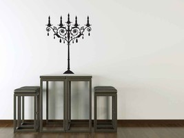 Candelabra- Vinyl Wall Art Decal - $24.00