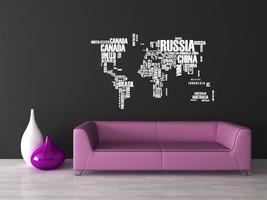 World of Words - Vinyl Wall Art Decal - $225.00