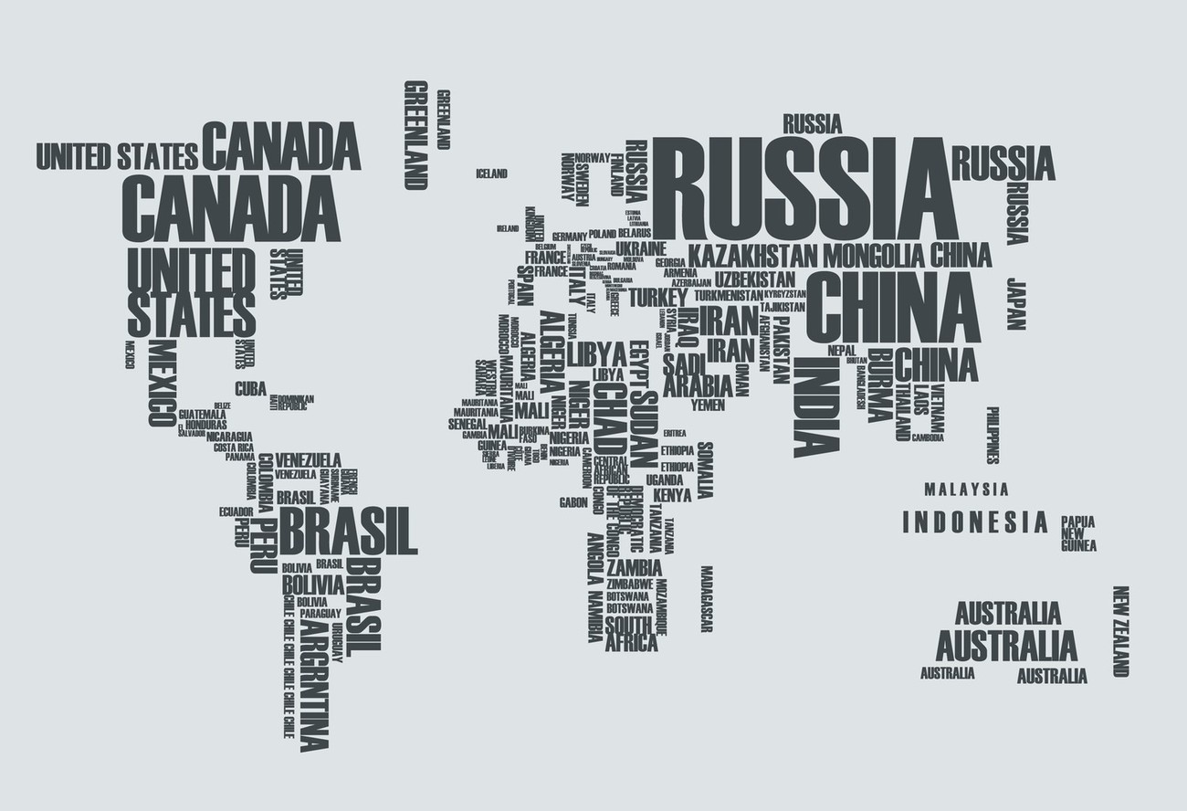 World of Words - Vinyl Wall Art Decal