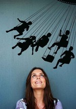 Swing Ride - Vinyl Wall Art  Decal - $59.00