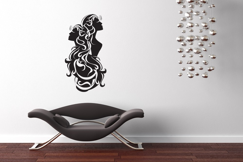 Gemini Horoscope Art - Vinyl Wall Art Decal
