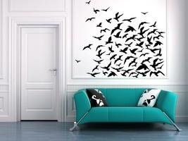 Flock of Birds - Vinyl Wall Art Decal - $49.00