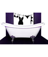 Bra and Panties Clothesline - Vinyl Wall Art Decal - $38.00
