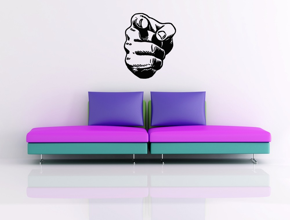 I Want You - Vinyl Wall Art Decal