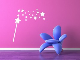 Magic Wand - Vinyl Wall Art Decal - $22.00