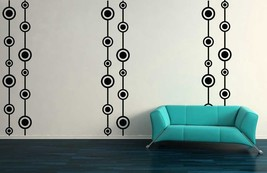 Retro Wall Design with Free Shipping - Vinyl Wall Art Decals - $175.00