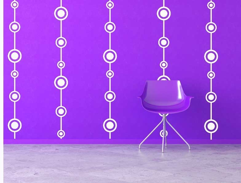 Retro Wall Design with Free Shipping - Vinyl Wall Art Decals